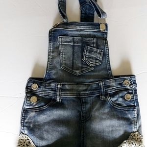 5/30 Girls fashion short overall size 8/10